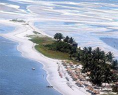 Ilha Itamaracá, Pernambuco, Brasil