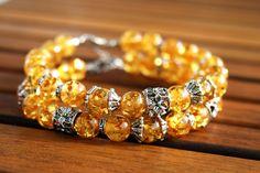 "Bijou set ""Sunny"" handmade item #handmade #bijou #bracelet"