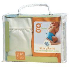 gDiapers Little gPants 2-Pack Orange & Vanilla, Medium $155.8