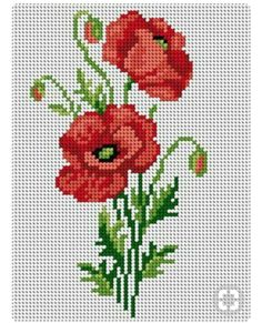 poppy account points, You can make really unique styles for materials with cross stitch. Cross stitch versions can almost amaze you. Cross stitch newcomers can make the versions they want without difficulty. Cross Stitch Freebies, Cross Stitch Bookmarks, Cross Stitch Rose, Modern Cross Stitch, Cross Stitch Flowers, Cross Stitch Kits, Cross Stitch Charts, Cross Stitch Designs, Cross Stitch Patterns