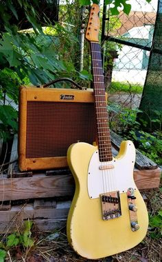 Searching for a quality guitar? Guitar Chords, Guitar Amp, Cool Guitar, Fender Electric Guitar, Cool Electric Guitars, Gibson Guitars, Fender Guitars, Fender Stratocaster, Fender Esquire