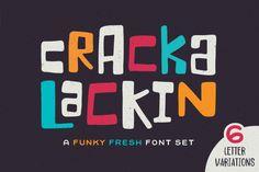 Crackalackin Font Set By Denise Chandler