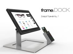 FRAME dock 01  . Contest RE-DOCK. EXHIBIT PAYMENTS A Metal frame that allows the Ipad to turn 240° (orizzontal axis).