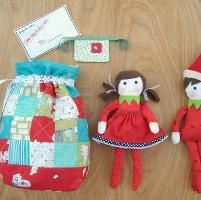 Sewing: Elf on the Shelf Templates  Love this!