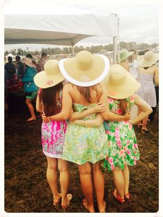 We're inspired by your Carolina Cup pictures! Check out brands such as Lilly Pulitzer and Jack Rogers online now at countryclubprep.com