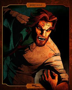 "Headline: ""The Wolf Among Us"" (Fables Game) Online Release Day"" (Friday, October 11, 2013) Image credit: Telltale Games ♛ Once Upon A Blog... fairy tale news ♛"
