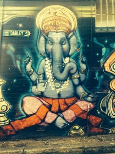 Ganesh graffitti