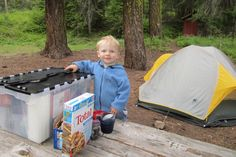 Camping Checklist for Family Camping