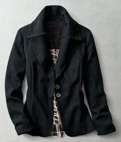 Plaza crepe jacket #ColdwaterCreek