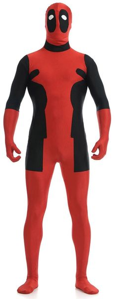 Spandex body suits are very common and one of the best Deadpool cosplay ideas these days, it is also not even hard to find, there is different spandex Deadpool costume for sale available in various online stores. The one great advantage of Deadpool skin suit is suitable either for both men and women