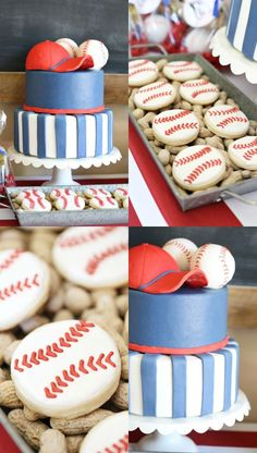Party: Baseball Birthday Party with Arizona Diamondbacks – See Vanessa Craft - Shopkins Party Ideas Baseball First Birthday, Boys First Birthday Party Ideas, Birthday Party Games, Baby First Birthday, 4th Birthday Parties, Geek Birthday, Theme Parties, Baseball Party Games, Vintage Baseball Party