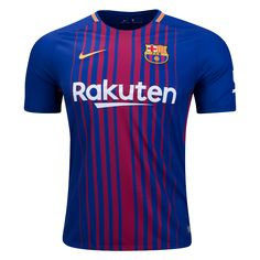 17/18 Barcelona Home Soccer Jersey