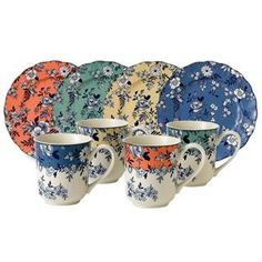 Johnson Brothers Devon Cottage Colors Collection Dinnerware