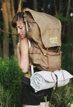 If you plan on backpacking, hauling an air mattress around just isn't an option, but crafting your own lightweight cushion could be.