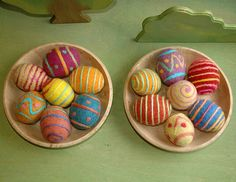 felted easter eggs 2008 :: 4th set | Flickr - Photo Sharing!