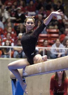 Kristina Baskett, University of Utah, gymnastics, gymnast balance beam #KyFun m.3.18 moved from @Kythoni Gymnastics Utah & Kristina Baskett, Stephanie Mcallister board http://www.pinterest.com/kythoni/gymnastics-utah-kristina-baskett-stephanie-mcallis/