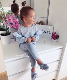 Toddler Girl Outfits, Baby Outfits, Kids Outfits, Cute Baby Clothes, Fashion Kids, Kids Wear, Cute Babies, Milan, Girls Dresses