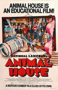 """Animal House"", aka ""National Lampoon's Animal House"", comedy film by John Landis (USA, 1970s Movies, Comedy Movies, Film Movie, Great Films, Good Movies, Awesome Movies, Movies Showing, Movies And Tv Shows, National Lampoon's Animal House"