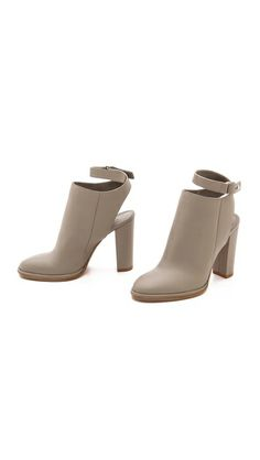 Vince JOANNA CUTOUT BOOTIES- Traveling in high- heels