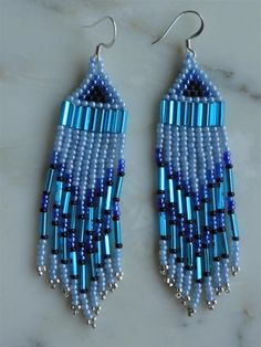 handmade earrings in aboriginal style $ 20 free shipping