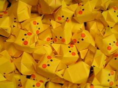 Pikachu Origami Cube - Cute Pokemon