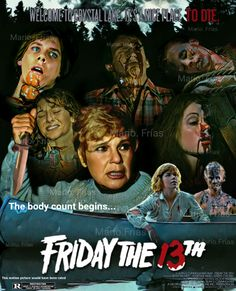 Friday The 13th 1980 Horror Movie Slasher Fan Made Edit By Mario. Frías