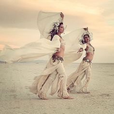 Auracle Dance Auracle Naga Sita & Aradia Sunseri Burning Man 2014