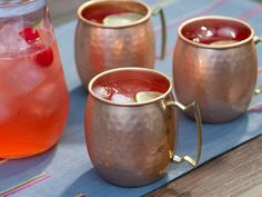 Cherry Moscow Mule recipe from Trisha Yearwood via Food Network
