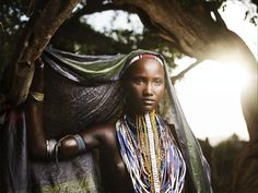 A girl from the arbore tribe in Ethiopia.. more pictures in here: http://fotosmundo.net/retratos-abisinia/