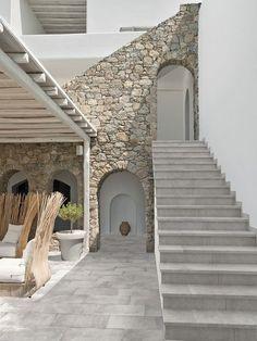 Indoor tile / outdoor / floor / porcelain stoneware BOHÈME GLACÉ Rosa Gres