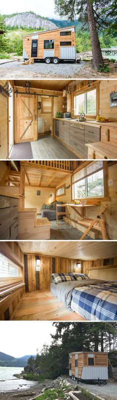 The Cowboy: a modern tiny house available for rent in British Columbia