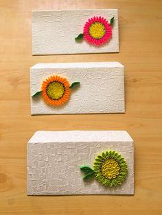 Gift Envelope, Envelope Design, Handmade Envelopes, Decorated Envelopes, Quilling Paper Craft, Quilling Cards, Quilling Designs, Quilling Ideas, Shagun Envelopes