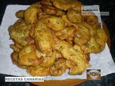 RECETAS CANARIAS: CHURROS DE PESCADO