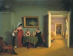 Федор Толстой - Семейный портрет