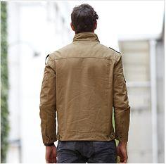 Military Jacket Mens Fashion
