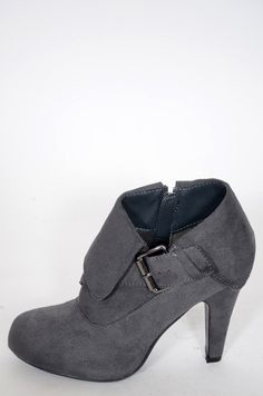 Candy #booties #fall #shoes #grey