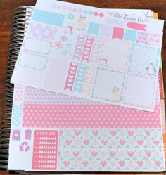 Winter Wonderland Horizontal Weekly Kit - Erin Condren Horizontal Layout