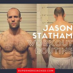 BONUS: It only felt right to use this picture right off the bat for Mr. Statham. I say that because I literally see it everywhere! And, for good reason, the man is ripped! I've noticed that I saved some of these legends like Statham, Hugh Jackman, Terry Crews, Brad Pitt, and a bunch of other (Wesley Snipes, Wahlberg, Damon, Diesel... etc. etc.) studs, for a bit late in the game. Thinking about it a bit more, I think it's because they're quite intimidating. I need to do them justic...