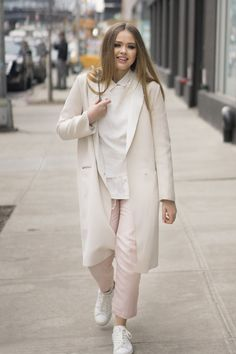 Pin for Later: The Street Style Hot Enough to Make You Forget the Cold NYFW Day 3 Kristina Bazan