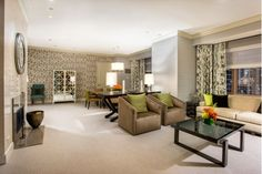 Lovely Living Room Design with Tan Chairs