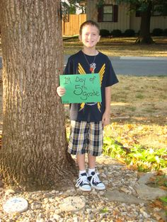 Rylan's 1st day of 5th grade....one BIG difference...He went back to school with Type 1 diabetes :(