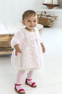 Free Knitting Pattern: Baby SwingCoat - Free baby sweater knitting patterns at http://intheloopknitting.com/free-baby-and-child-sweater-knitting-patterns/