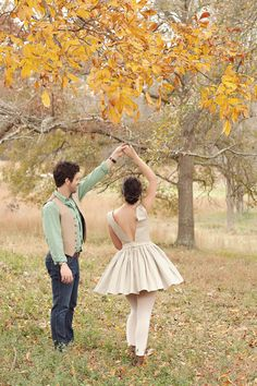 engagement photoshoot... love the dress <3