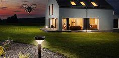 Фонари и квадрокоптер: инновационная охранная система от Sunflower Labs   #wb365