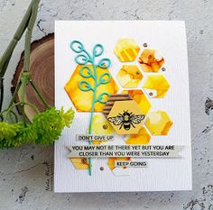 Periwinkle Creations: Too bee or not to bee 2019 Hexagon Cards, Honey Bee Stamps, Pretty Pink Posh, 30 Gifts, Paper Smooches, Bee Design, Scrapbook Cards, Scrapbooking, Gift Certificates