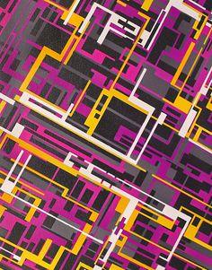Künstler: Maximilian von Bergen  Name des Werkes: Rick Deckard  Größe: Höhe 120 cm / Breite 80 cm / Tiefe 2 cm  Materialien: Lackfarbe auf Leinwand