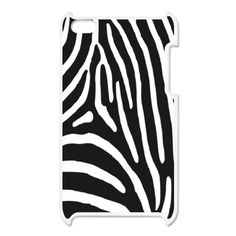 Zebra Stripes iPod Touch 4 Case