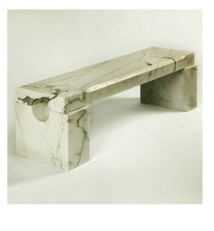 marble bench from jean de merry