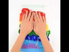 DIY: No mess finger painting! Tag a parent who would love this idea! Finger Painting, Diy Videos, Art For Kids, Arts And Crafts, Parenting, Art For Toddlers, Art Kids, Art And Craft, Finger Drawings
