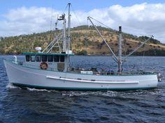 1981 fishing boat. Classic lines.